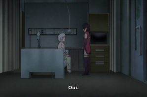 Scène entre Mitsuki & Sarada