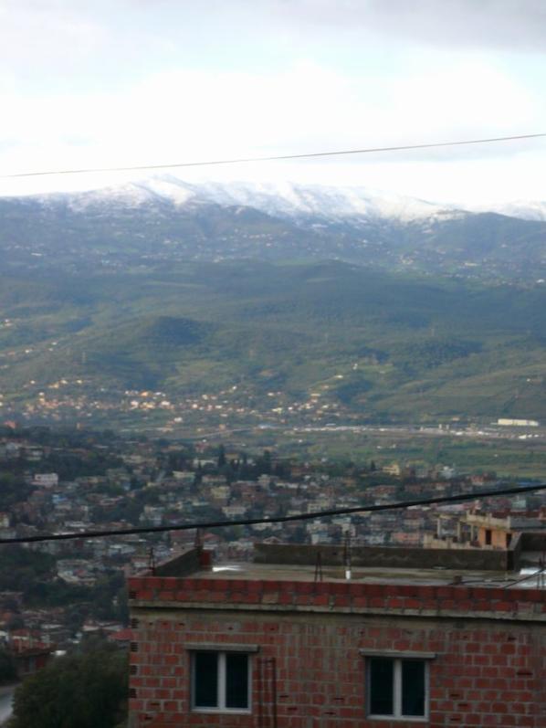 vue d el milia  les montagne d ouled Yahia
