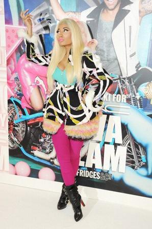 Nicki Minaj Celebrates MAC Viva Glam At...