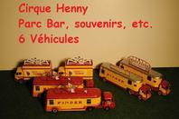 Le parc véhicules du Cirque