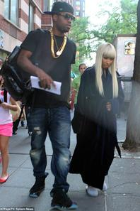 "Nicki Minaj En Route Pour Le Tournage Du Film ""The Other Woman"" [21/05/13]"
