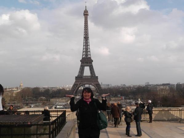 Mini trip à Paris à l'occasion du marathon. C'était super!