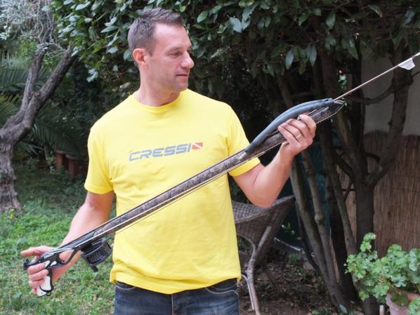 Chez Cressi vous avez le choix des armes !!!