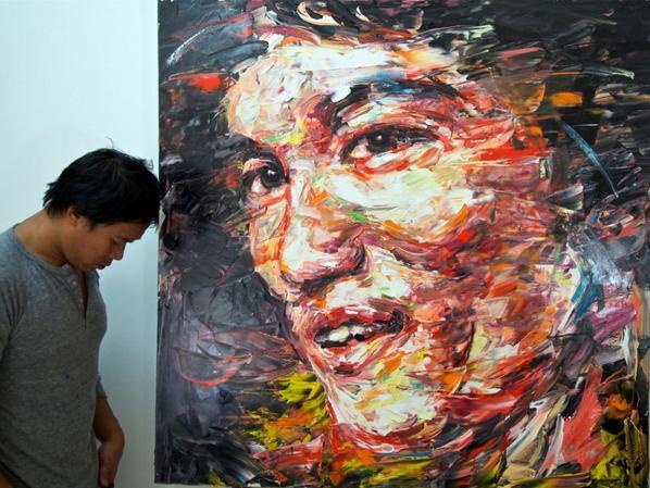 Bruce Lee par Hom Nguyen