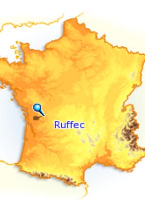 RUFFEC laché à 7h15  avec 1685 pigeons