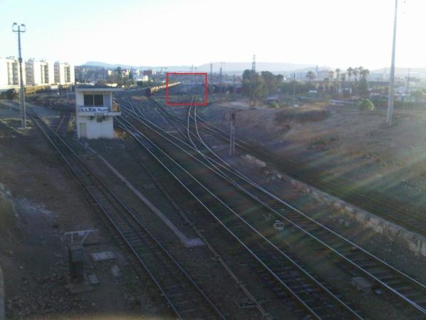 Transfert des wagons Fret de la gare d'Oujda à la future plateforme logistique de la gare de Beni Oukil