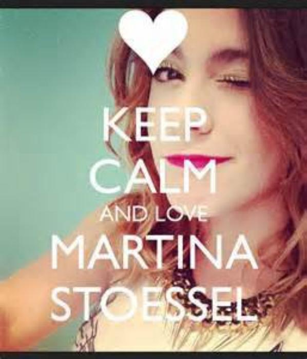 keep calm and LOVE MARTINA STOESSEL<3<3<3<3<