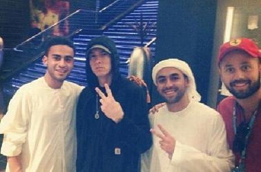 Eminem à Abu Dhabi (4 novembre)