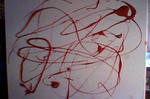 mes peinture un peu loupée ^^'