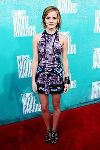 .Emma Watson au  MTV Movies Awards.