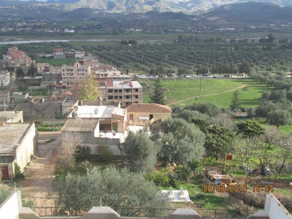 azul mon village a allaghan a bejaia(la kabyle ) on Algérie