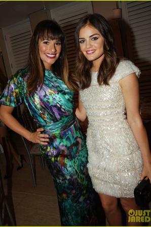 Sortie Lea Michele et Lucy Hale