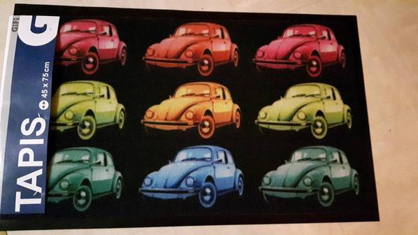 Paillassons VW