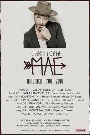Américain Tour 2018 & au Portugal!