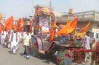 Mangal Klash Yatra by Divya Jyoti Jagrity Sansthan