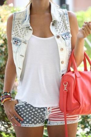 La veste en jean !!