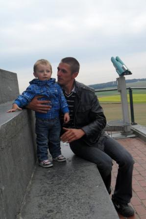 kainan et son papa