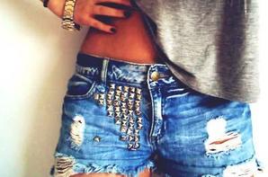 jean short  swag n°1