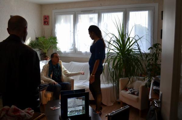 les photos du tournage du clip