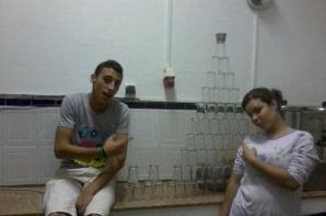 oussama with basma