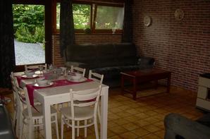 """ENVIE DE PASSER UN WEEK-END EN  AMOUREUX  OU UNE SEMAINE EN FAMILLE       GITE   A   LA   FERME :  """"le trou des renards""""  (6 personnes)  Belgique Province du Luxembourg"""