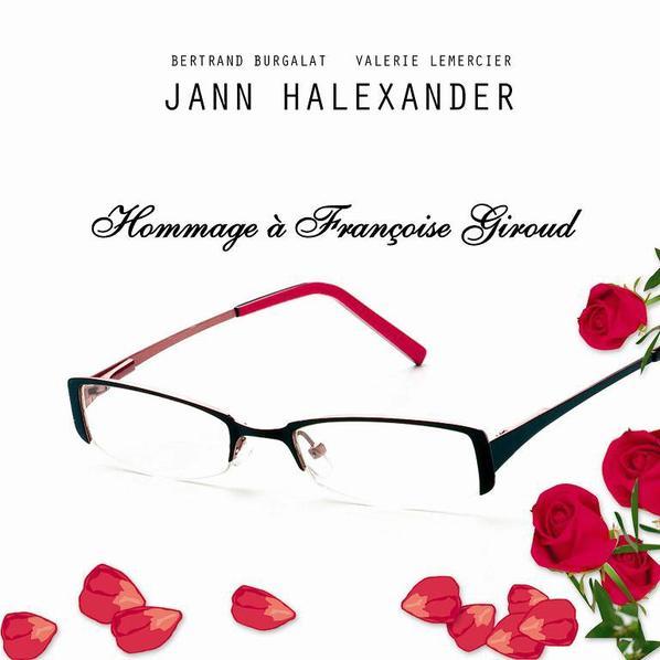 FRANCOISE G par Jann Halexander (enregistré par BERTRAND BURGALAT- texte Valérie Lemercier)