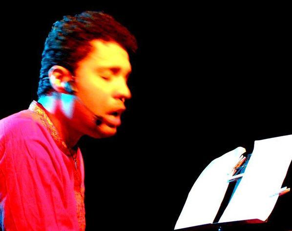 Jann Halexander, Prailles, concert du 29 mars 2014