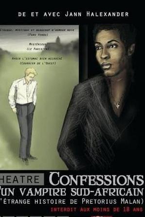 Rappel mini-tournée 'Confessions d'un Vampire Sud-Africain' Paris/Angers