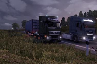 Mission rapide en Volvo