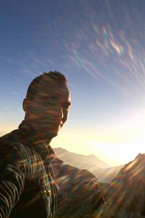 une journee en montagne