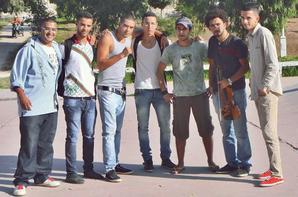 TOURNAGE DE CLIP ( CHWIYA MEN BEZAF ) MISTER SAFSAF