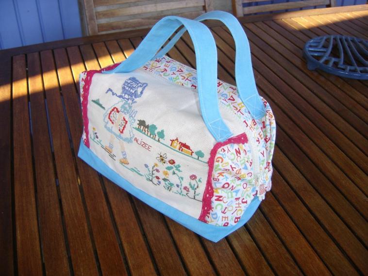 sac pour une petite Alizée