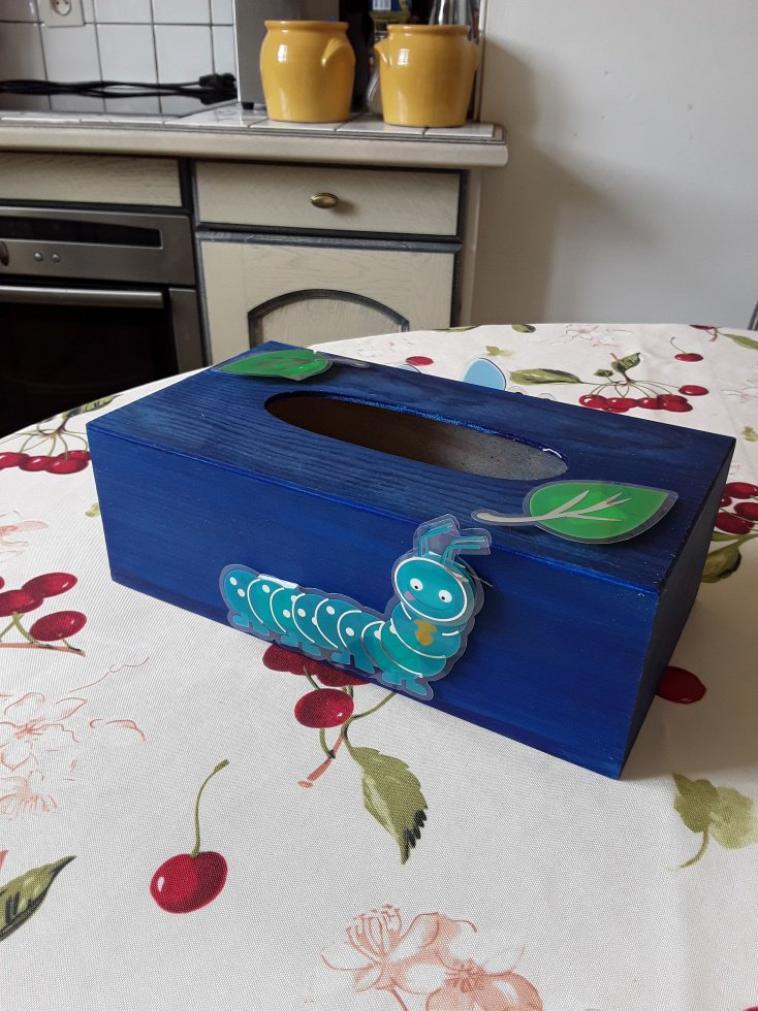 Boîte mouchoirs 3D