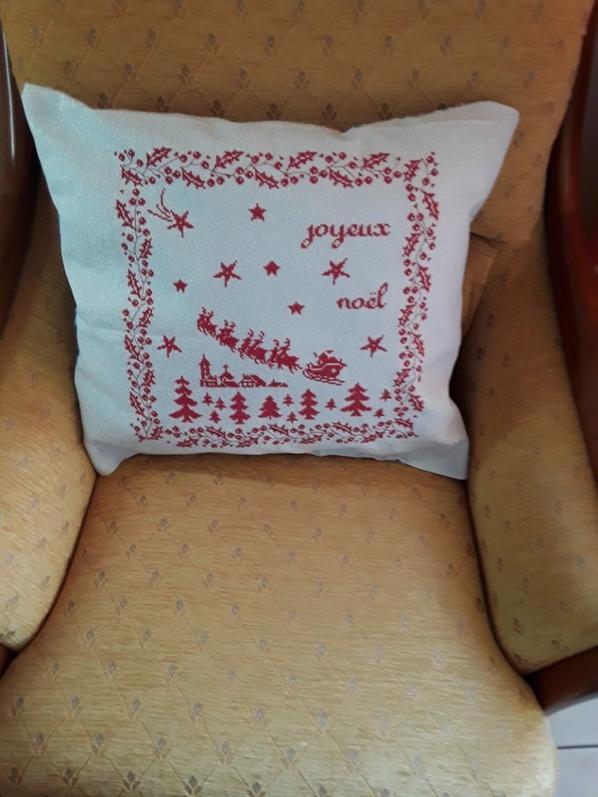 Mes coussins de Noël