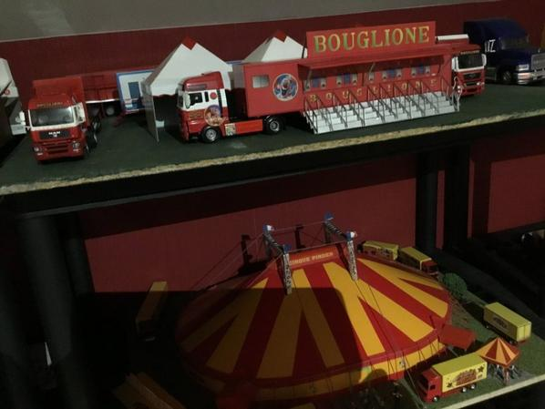 Camion Bouglione cirque Pinder