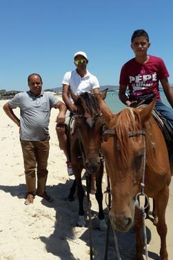 belle journée à la plage avec mon frere et mon neveu
