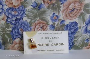 Deux rares minis sur carte, de Cardin: Singulier et Suite 16