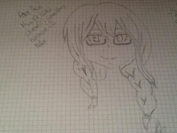 Voilà mes deux derniers dessin ^^