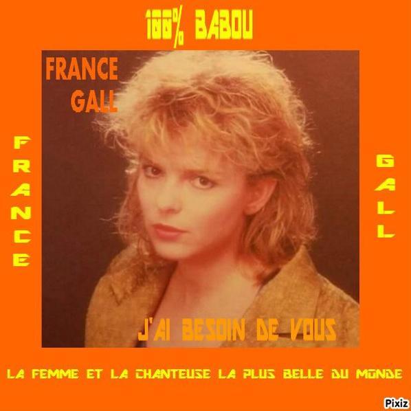 NOUVEAU MONTAGE FRANCE GALL FACON POCHETTE DE 45TOURS