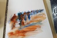 Un dimanche à l'aquarelle