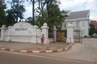 Palais Présidentiel - Avant et arrière.