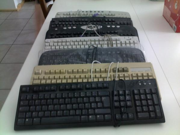 clavier 5 euros