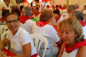 DEJEUNER DU BIRDIE CLUB BIARRITZ AUX FETES DE BAYONNE LE JEUDI 25 JUILLET 2013