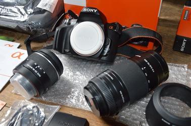 A VENDRE Appareil photo reflex sony alpha 230 Vente pour une amie.