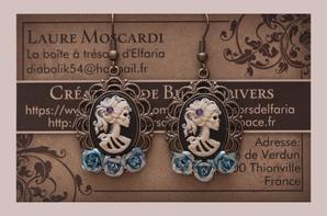 Vous pouvez retrouver mes créations sur facebook: La boîte à trésors d'elfaria - shop & art