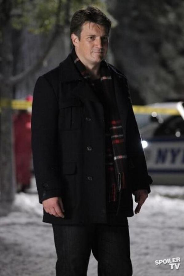 castle 5x09 secret santa  promo photos (1)