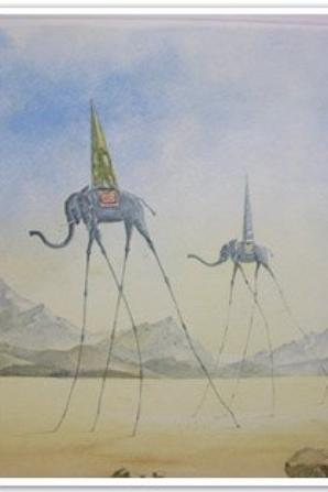 Oeuvres de Salvador Dali trouvées sur Google - images