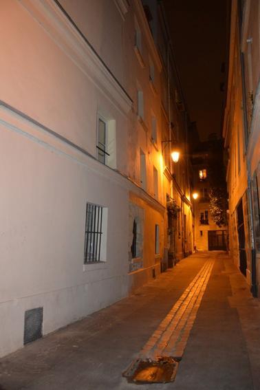 Une Rue caché