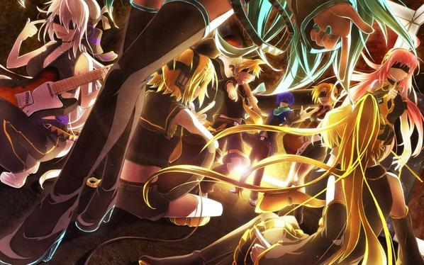 vocaloid en force !!