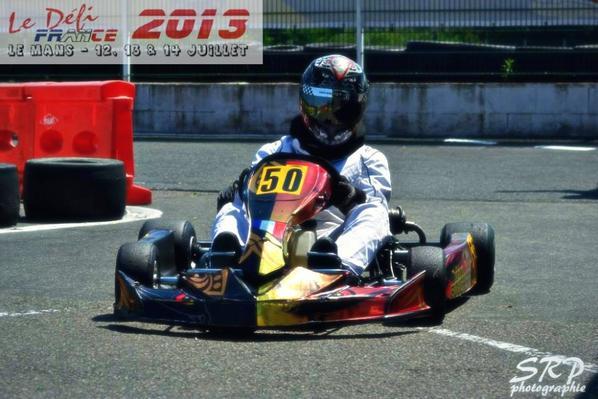 3e a la coupe de France KFS 125 !